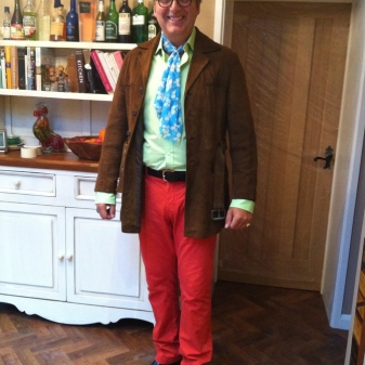 The Enigmatic Mark Massingham wearing Black Rafaels. Monkey Shoulder and Absenthe at the ready....time to party!!