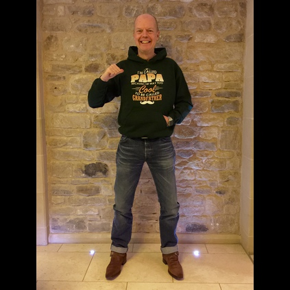 Jerry Hopkinson in his JW Suede Doomsday Buckle boots