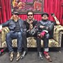 Pete, Scott and Miley of Rival Sons still alive after their mammoth 13th month world tour. In the Ziggy Stingers, Rochester Ants and Moriarty Devil Foot!