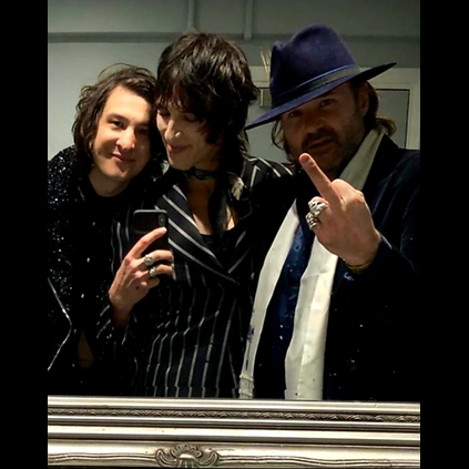Backstage revelry on Palaye Royales The Bastards World Tour