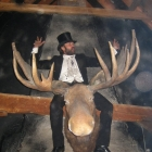 Astride the Moose on New Years Eve!