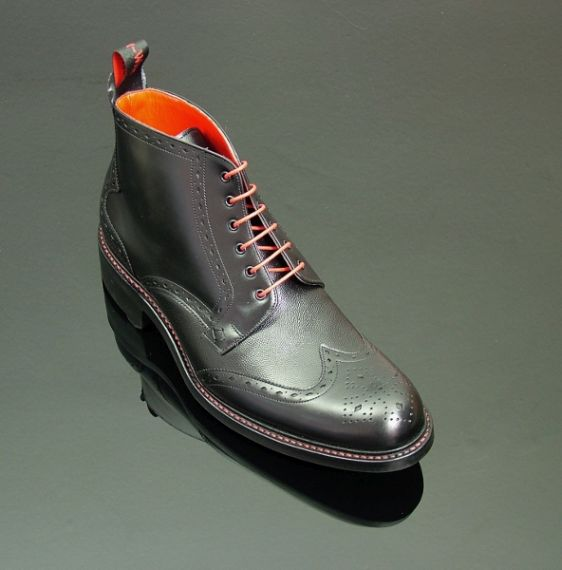 Hannibal 3101 - Classic Brogue Derby with Rubber Sole