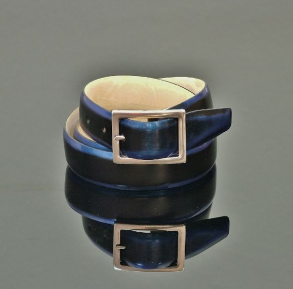 Claudio - Shade Blue Rub Off Belt