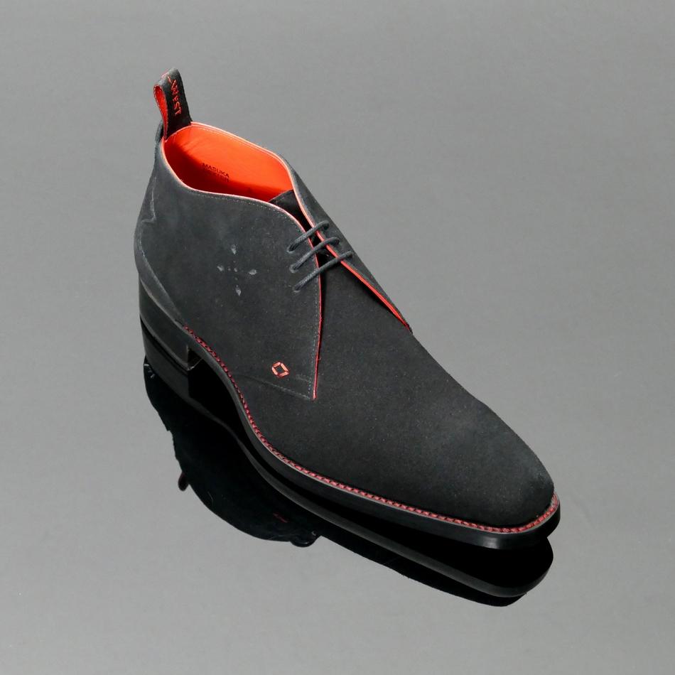 Dexter Leather Chukah Shoes