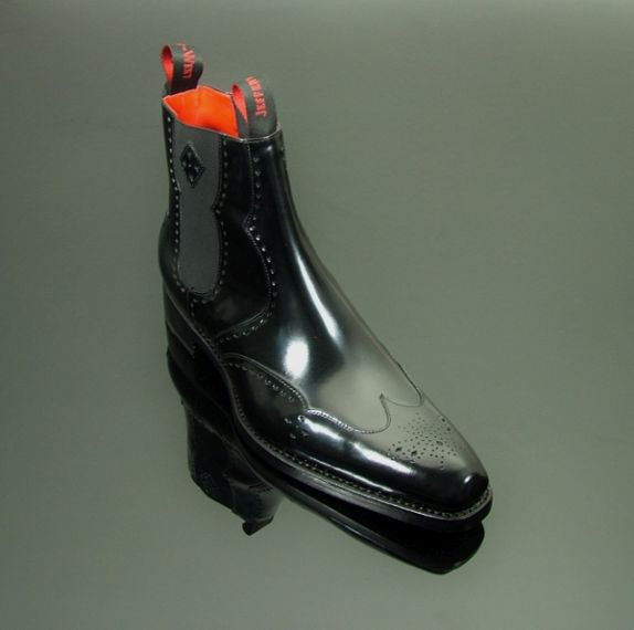 Dexter - 'Novikov' Chelsea Boot Black Polish