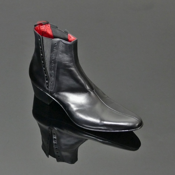 Murphy J022 - 'Helter Skelter' Seam Front Chelsea Boot
