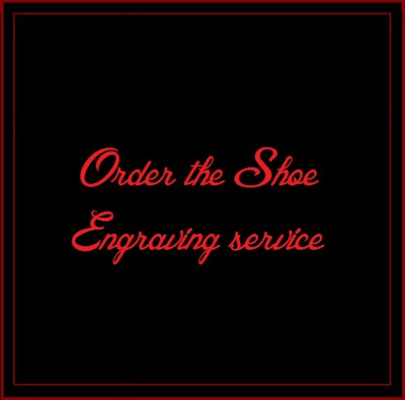 Shoe Engraving service