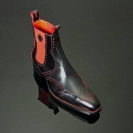 Dexter - 'Novikov' Cut Through Punch Chelsea Boot