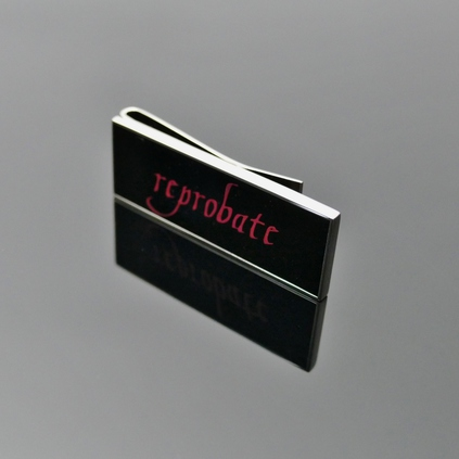 'Reprobate' Money Clip