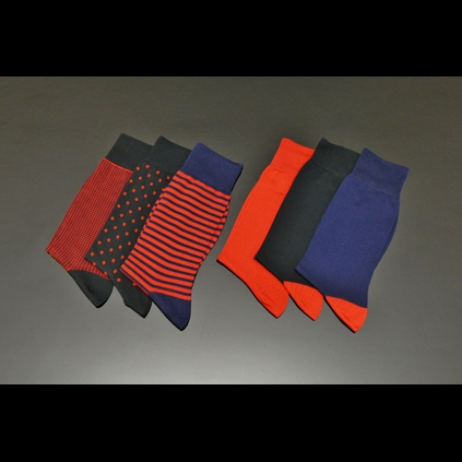 Jeffery-West Patterned Socks - from £10