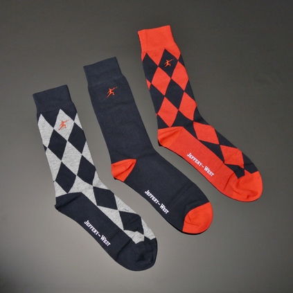Sock Sets - Trio Diamonds <b>was <s>£25</s> now £15</b>