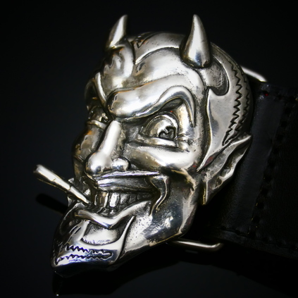 Infamous Belt - Devil Head