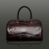 The 'Nightporter' Overnighter Bag - Zephyr Silver