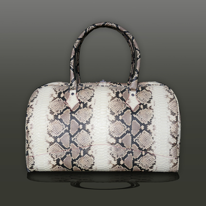 The 'Nightporter' Overnighter Bag - Black Napa