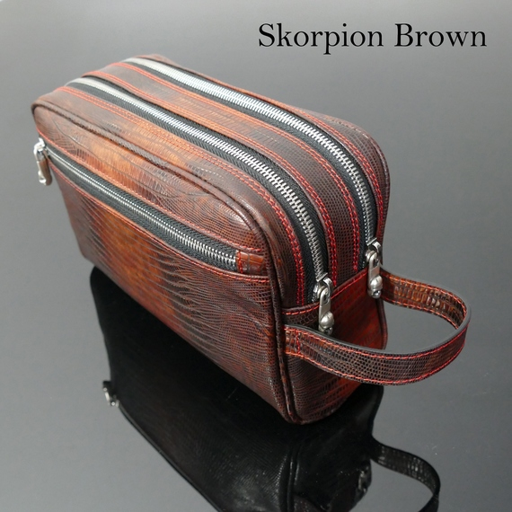 Embossed Luxury Wash Bags - starting from £115