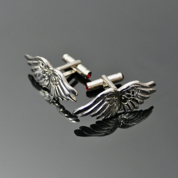 Cufflinks - 'Icarus Wings'