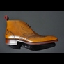 Moon 'FORMATION' Lasered Wing Chukka Boot