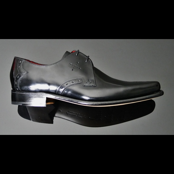Cocker - 'Gloss' Punch Toe Gibson <b>was <s>£225</s> now £165 </b>