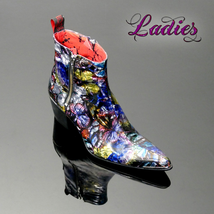 Ladies Sylvian 'K339 AVATAR' Double Zip Boot