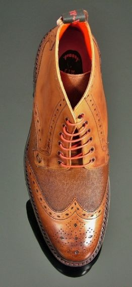 Hannibal - Classic Brogue Derby with Rubber Sole