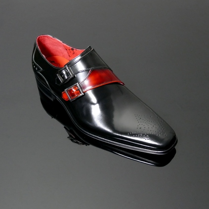 Scarface K459 Double Buckle Monk Shoe