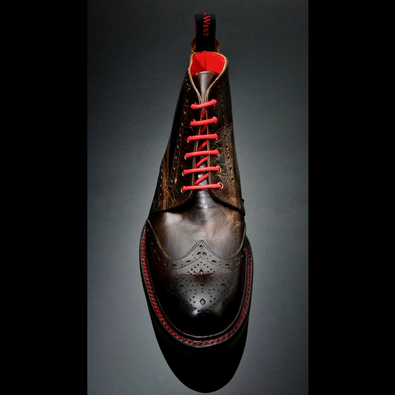 Hannibal - Classic Brogue Derby CMD with Rubber Sole