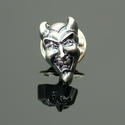 Lapel Pin - Devil Head