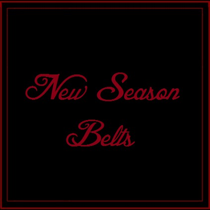 New Season Belts